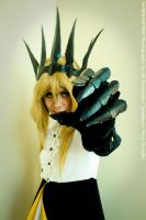 Chariot - Black Rock Shooter Cosplay anime by Misaki-Momox3