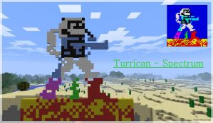 PIXEL ART - Turrican Spectrum by TRADT-PRODUCTION