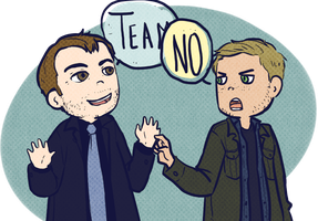 Supernatural - Team by Bisho-s