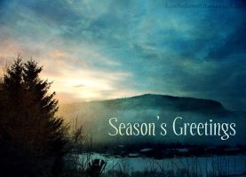 Card - Season's Greetings by kuschelirmel