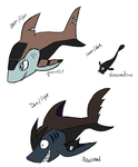 Fakemon concepts 3 by AngelicMissMarie