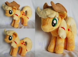 My Little Pony Plush Applejack by Rainbow-Kite