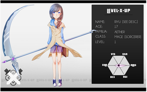 [LEVEL-X-UP] Riyu by Shiyouninn