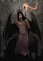 Greek Mythology: Hypnos by bachanozar