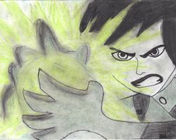 Shego: not happy by Paigep0412