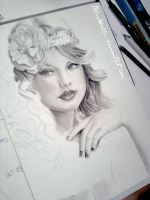 Taylor Swift WIP by BlueWelli