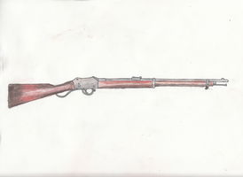 Martini-Henry Rifle by MiGpilot25