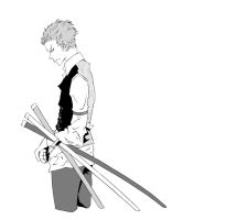 Suits Zoro by PocketTammy