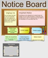 Notice board by Umbot