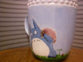 DIY Blue Totoro Mug side 1 by steady-vertigo