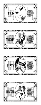 Dirty Money by DarciGibson