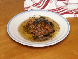 Blackened Lemon Pepper Salmon by redtailhawker
