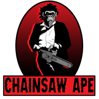 Chainsaw Ape by Huggbees