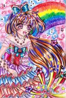 ++PRINCESS OF A RAINBOWCOLOR++ by ladybluematrix