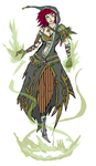Earth Mage Mary Clean Colors by DiamondWithACurse