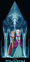 FROZEN: Anna and Elsa by MissMikopete