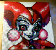 Chrono Cross's Harle (Perler beads) by LlamaTears