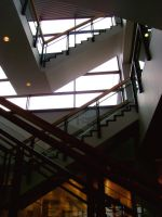 Library stairs 4 by Ninde