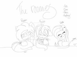 The roomies by S-K-Y-L-I