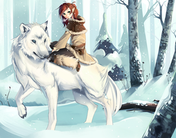 Follow The Wolf Commission by LOYProject