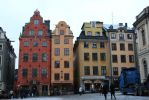 Small houses in Sweden street by mrsCoca-Cola16