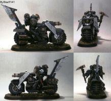 Ravenwing Black Knight with Grenade Launcher by Elmo9141