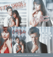 Fifty Shades Icons by itsshayyy