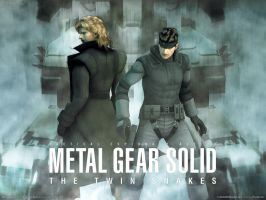 Twin Snakes by MetalGearSolid211