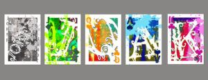 Abstract Playing Cards by tink722