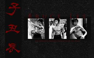 Bruce Lee by UnderTheEarth