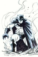 Batman Sketch by Miketron2000