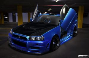 Nissan Skyline R34 by roleedesign