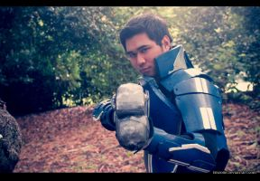 Kaidan Alenko Mass Effect 3 Cosplay: Tracking by ManticoreEX