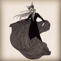 King Thranduil by cabins