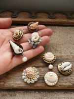 Tiny shell specimen magnets by janedean