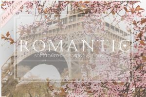 Romantic | Soft Photoshop Actions Early Bird price by ShekFilters