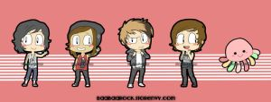 Kellin, Vic, Alex, Austin, and Squidgy by shaolinfeilong