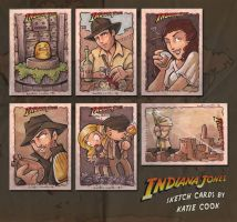 TOPPS indiana jones pt.1 by katiecandraw