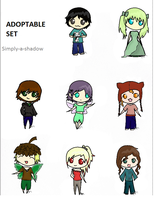 Point adoptables. :) ~OPEN~ by Simply-a-Shadow
