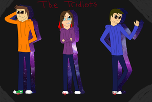 The Tridiots by 24Wolfy42