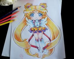 Chibi Sailor Moon by Lighane