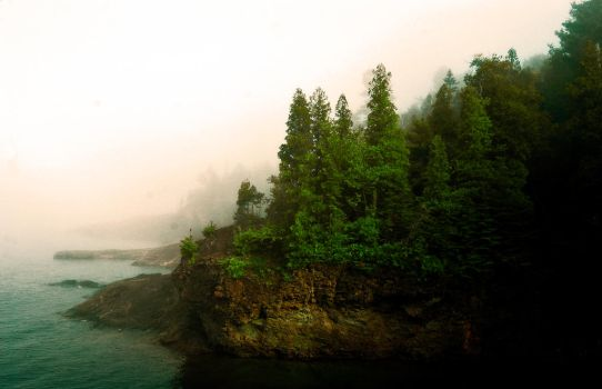 foggy point by Andrewflees