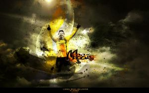 messi wallpaper by FW77
