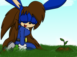 Collab: -Rocky's Plant- by IkaritheHedgehog