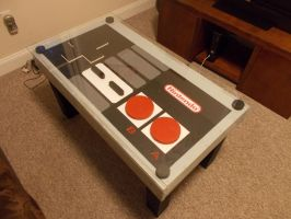 NES Table! by The-Dregs