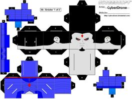 Cubee - Mr. Sinister '1of2' by CyberDrone