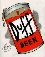 Duff Beer by Insanemoe