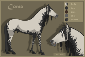 Coma |Character sheet| by LadyX-LT
