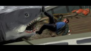 Action Film: Jaws by robotbreath