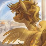 Sunlight Over Ponitalia by kittiara